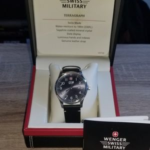 Wenger Swiss Military Watch in Navy